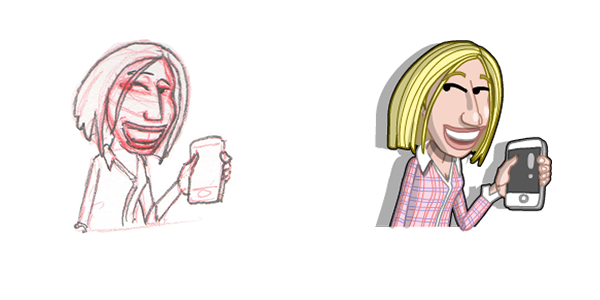 New Motiv Caricatures | Motiv Productions - Creating Video for Business