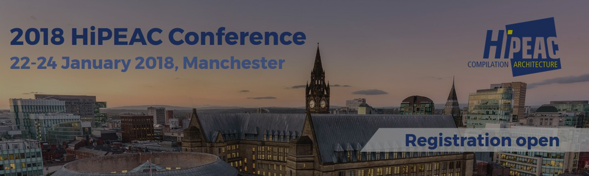 Manchester – 3 day HiPEAC event filming