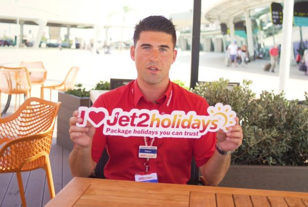 Jet 2 resort employee