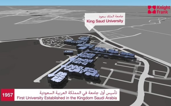 3D imagery of Riyadh - Saudi city