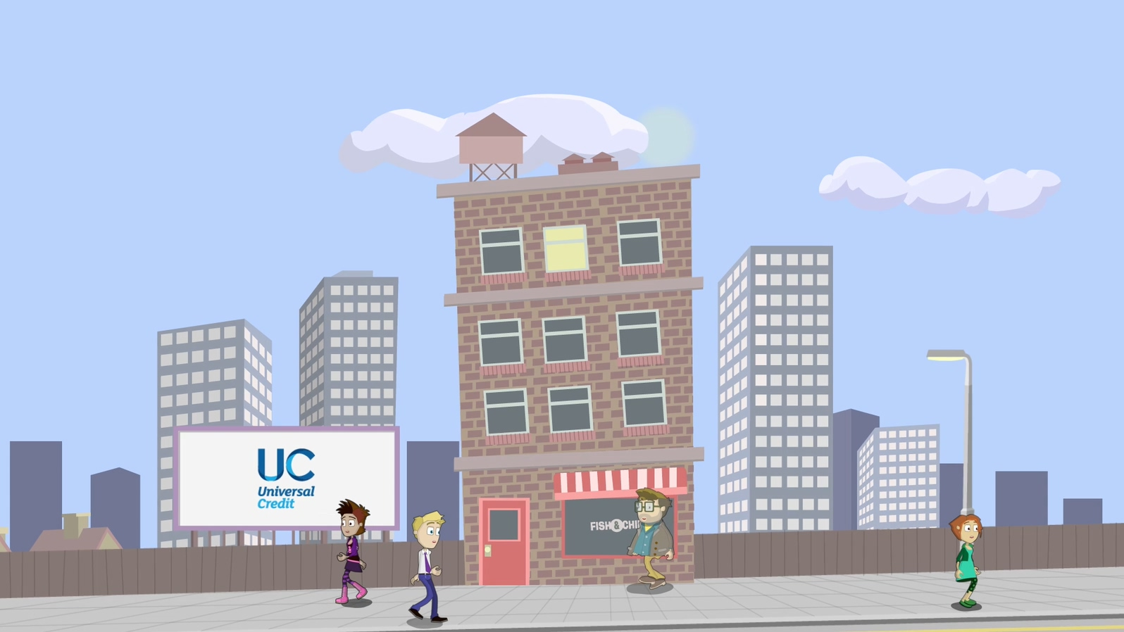 'Universal Credit' Animation