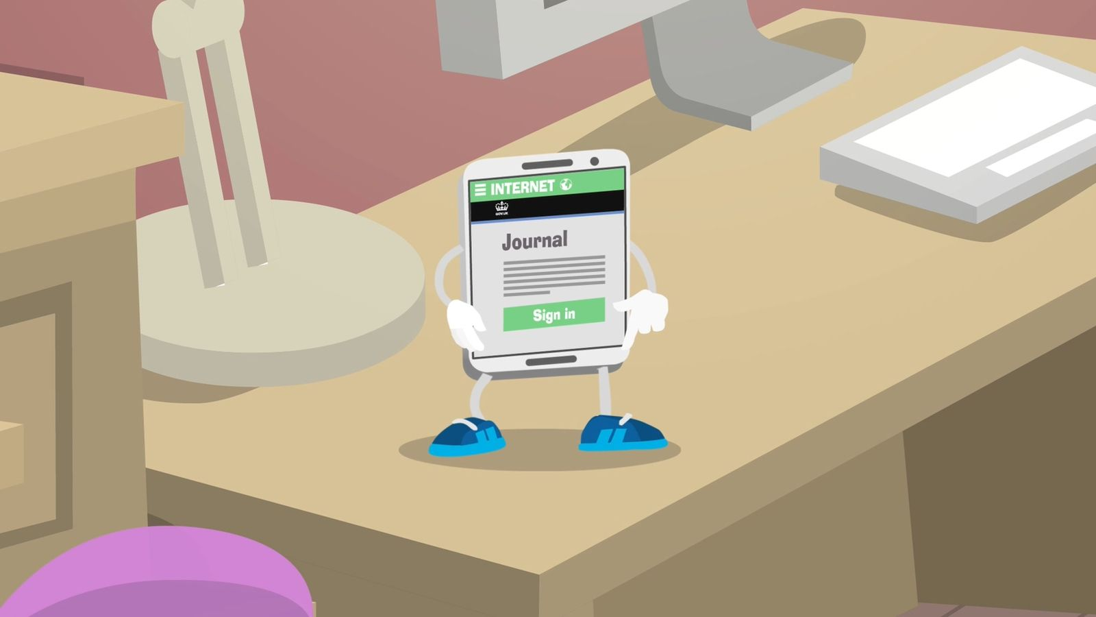 animation advertising universal credit