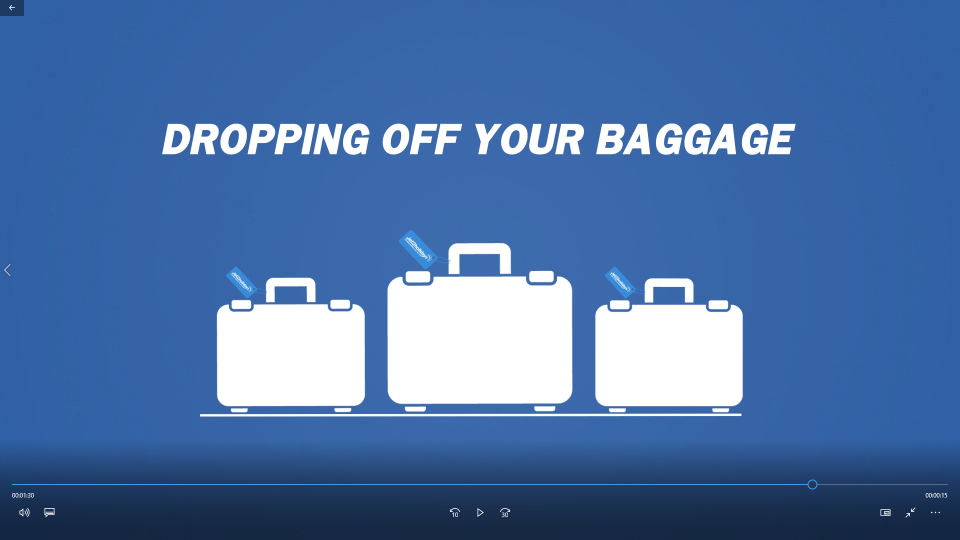 Jet2 tips on how to drop off your baggage