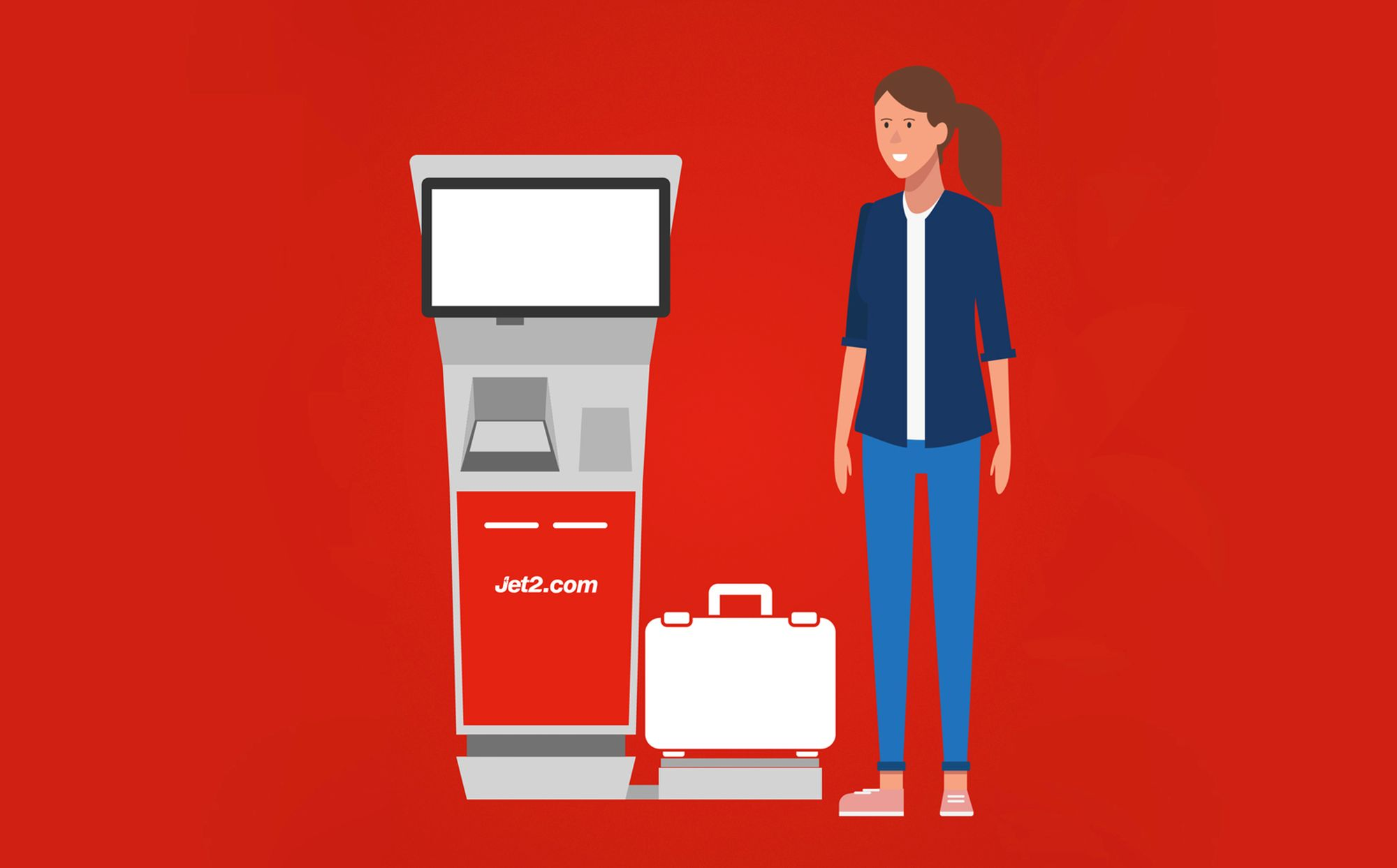 Jet2.com Self Check-In animations