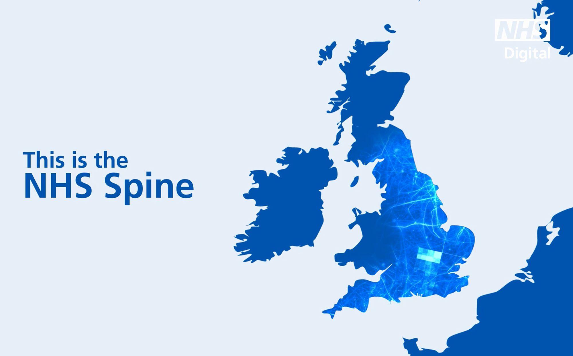 NHS Digital Spine Animation